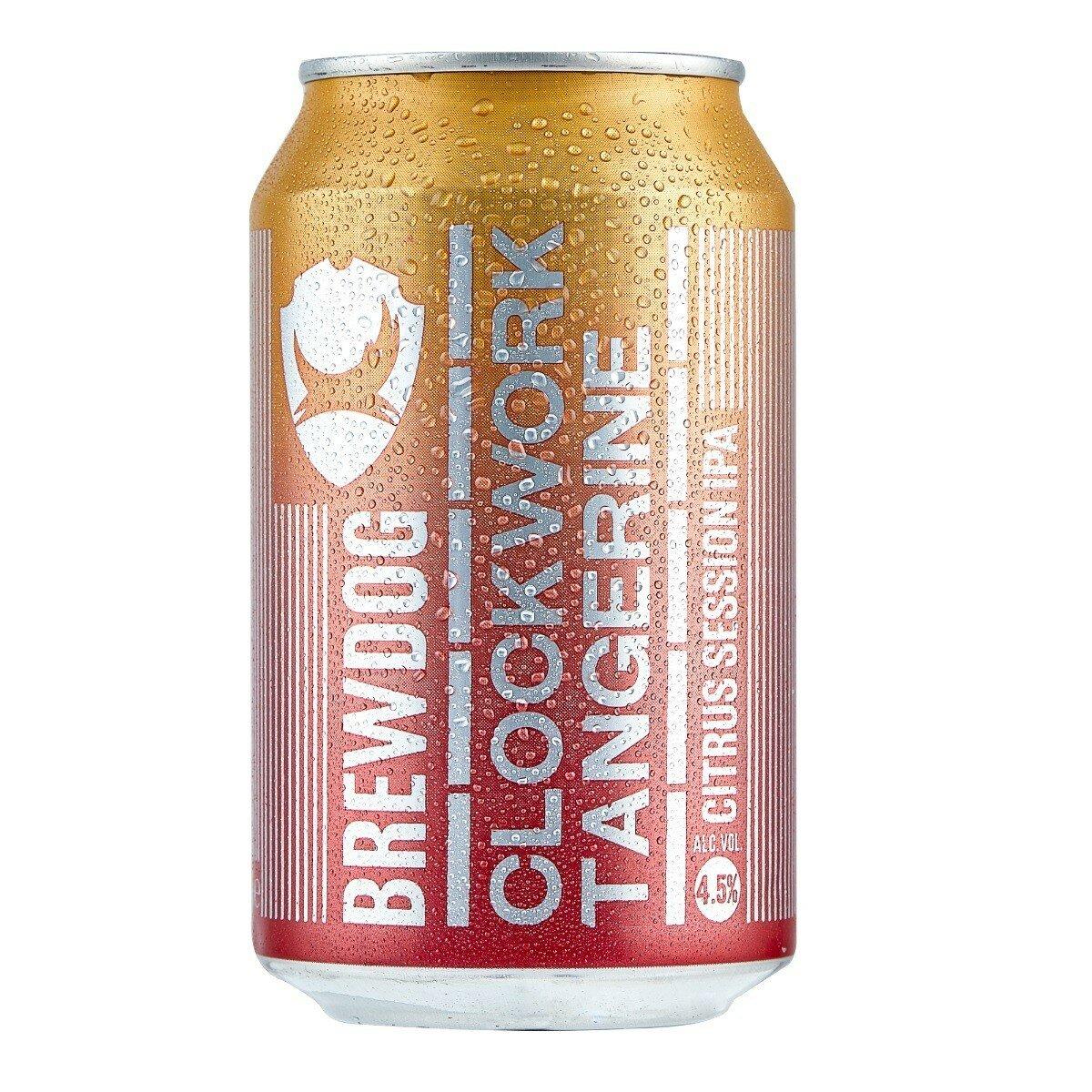 BrewDog Clockwork Tangerine 330mL CAN CTN