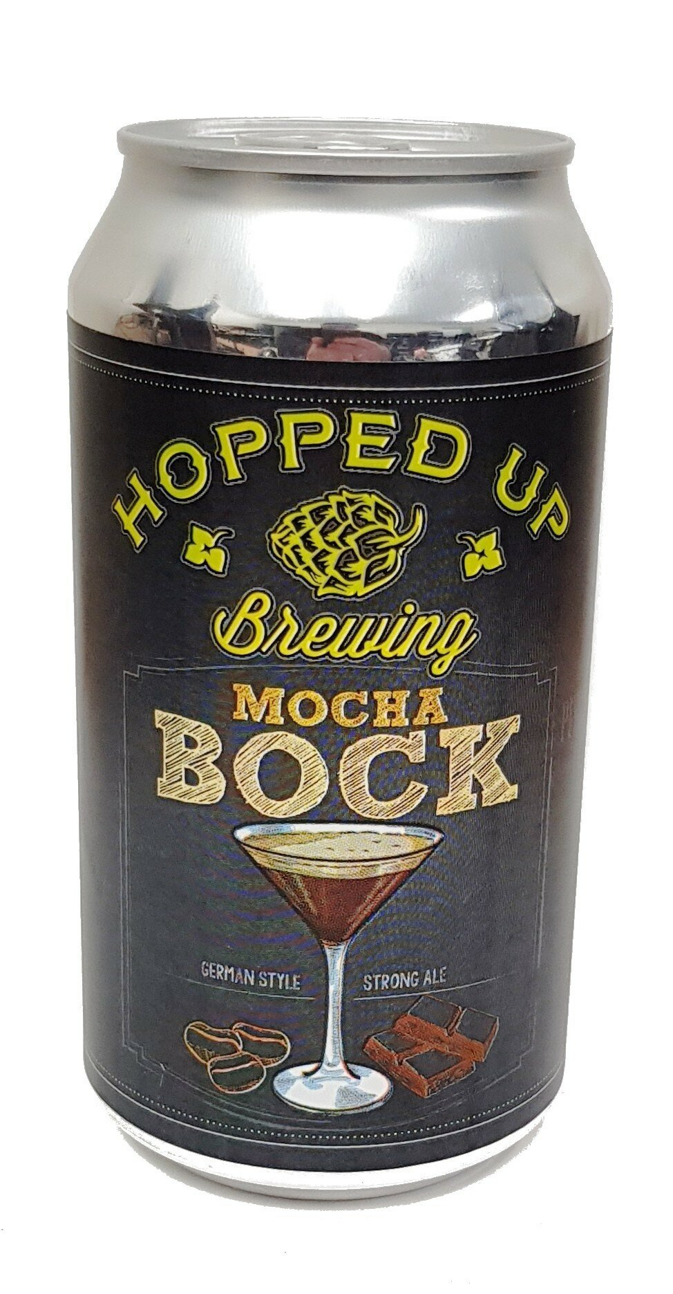 Hopped UP Mocha Bock 375mL CAN CTN