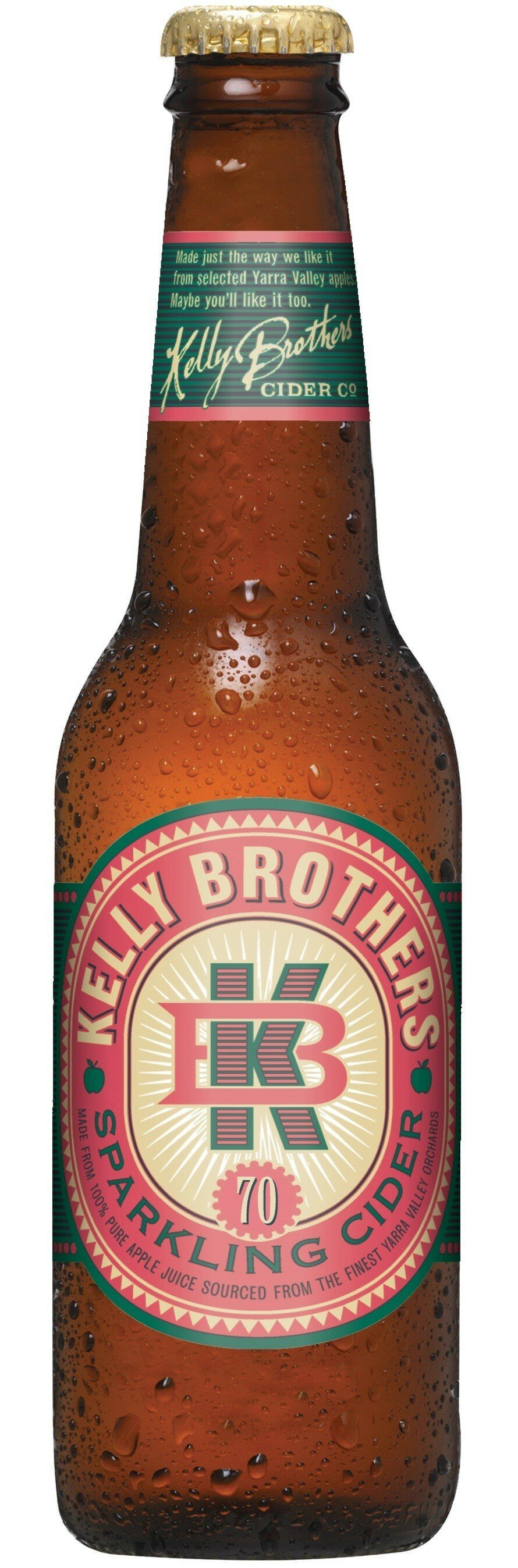 Kelly Brothers Apple Cider 330mL CTN