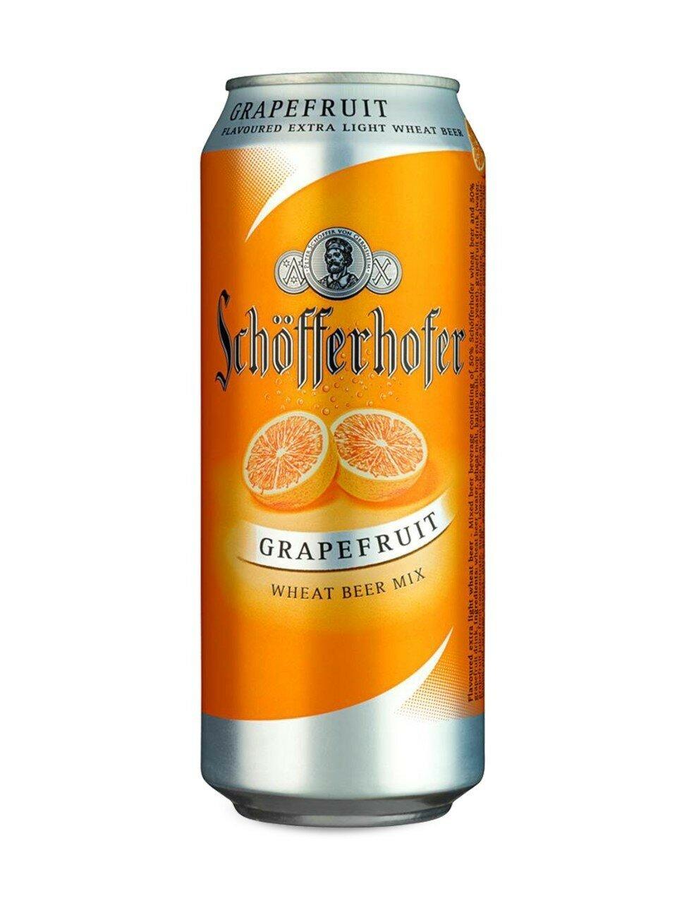 Schofferhofer Grapefruit 500ml CAN CTN
