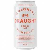 Colonial Draught 375mL CAN CTN