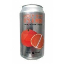 Rocky Ridge Holy Shit Mandarin 375mL CAN CTN(16)