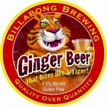 Billabong Gluten Free Ginger Beer 330mL CTN