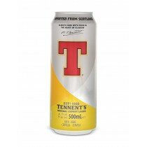 Tennent's Lager 500mL CAN CTN