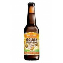 Big Shed Golden Stout Time 330mL CTN