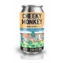 Cheeky Monkey West Coast IPA 375mL CAN CTN(16)