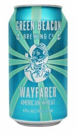 Green Beacon Wayfarer Wheat 375mL CAN CTN