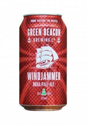 Green Beacon Windjammer IPA 375mL CAN CTN