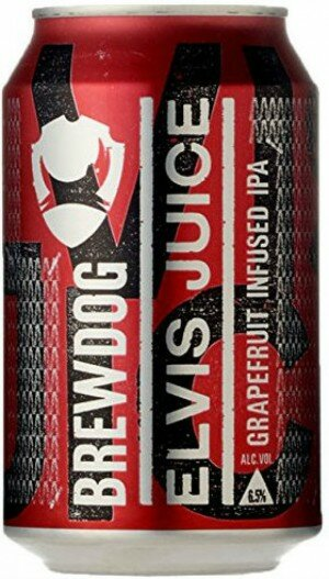 BrewDog Elvis Juice Grapefruit IPA 330mL CAN CTN