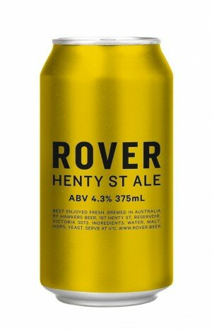 Rover Henty St Ale 375mL CAN CTN