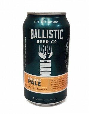 Ballistic Pale Ale 375mL CAN CTN