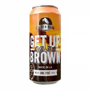 Golden Road Get Up Brown 355ml Cans Carton