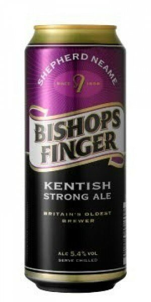 Bishops Finger 500ml Cans CTN