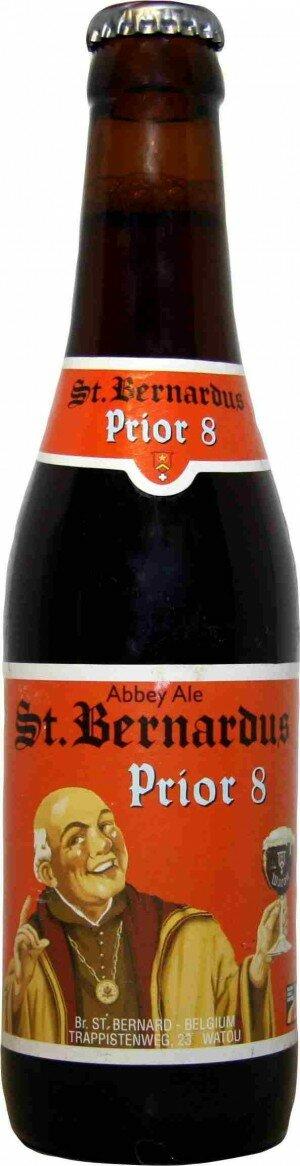 St Bernardus Prior 8 Stubbie CTN