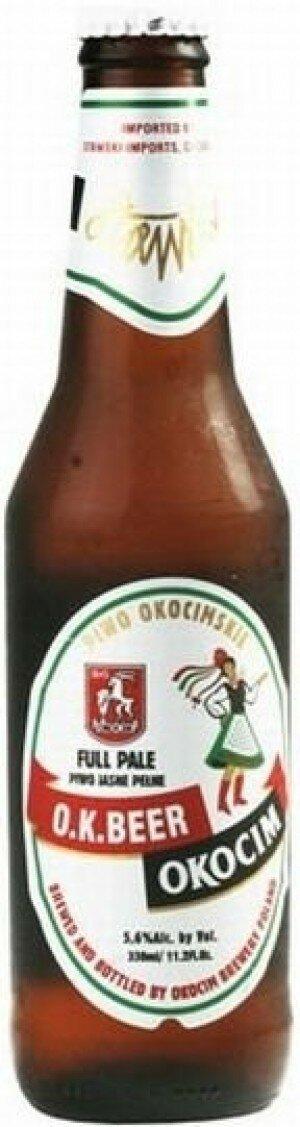 Okocim O.K. Beer 500mL CTN(20)