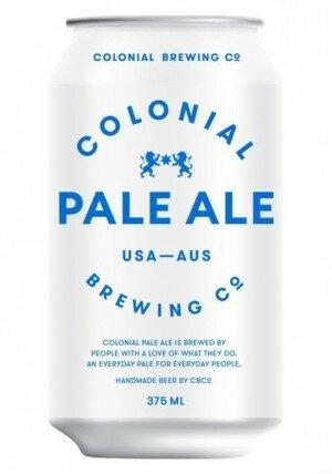 Colonial Pale Ale 375mL CAN CTN