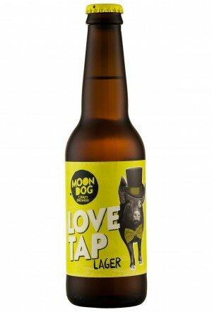 Moon Dog Love Tap Lager 330mL CTN