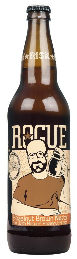 Rogue Hazelnut Brown Nectar 650mL CTN(12)