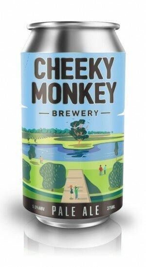 Cheeky Monkey Pale Ale 375mL CAN CTN