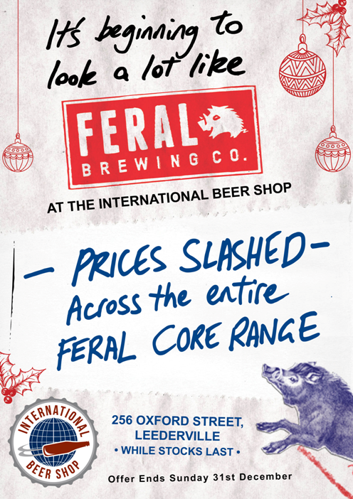 Brewery of the Month - Feral